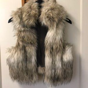 Loft Faux Fur Vest